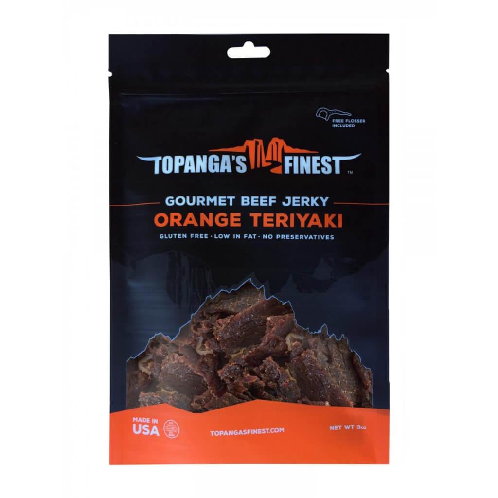 Gluten Free Orange Teriyaki Beef Jerky